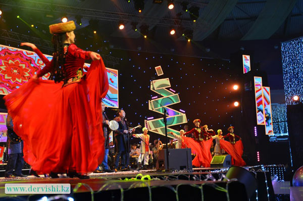Группа Дервишина Новогоднем бале акима Астаны