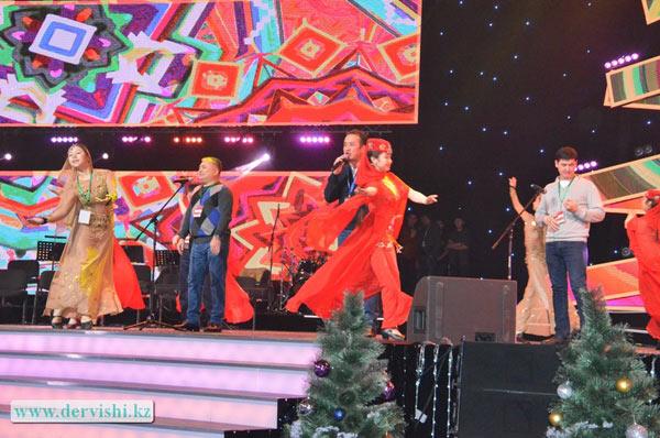 Группа Дервишиприняла участие в ежегодном благотворительном новогоднем бале акима Астаны